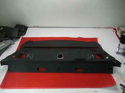 Rear Window Deck Black Cover Trim Panel OEM BMW F06 650i 640i M6 Gran Coupe