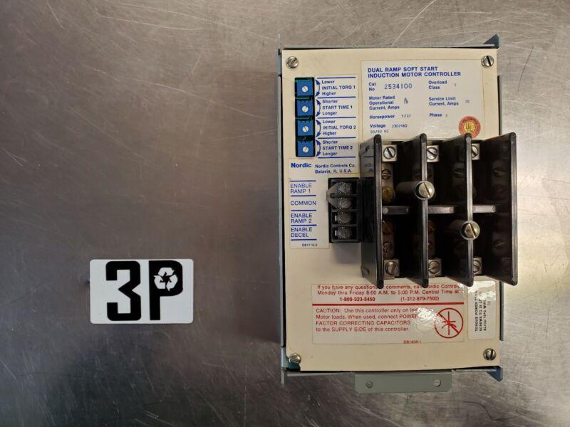 NORDIC Dual Ramp Soft Start 2534100 Induction Motor Controller