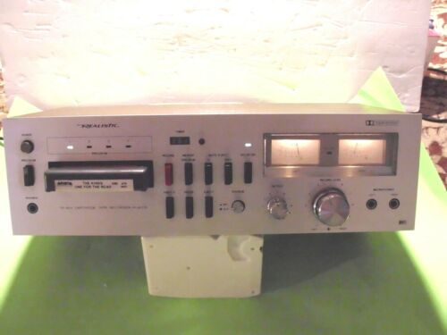 8 TRACK PLAYER REALISTIC TR-803 VERY CLEAN WORKS PERFECT  TECH SERVICED