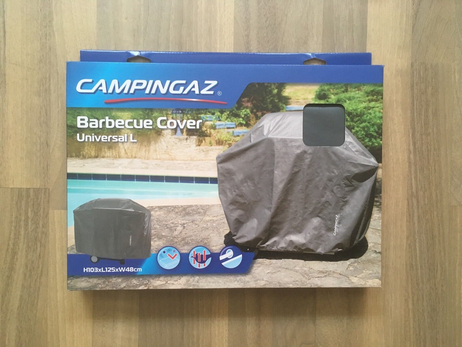 Campingaz Universal-Abdeckhaube Abdeckplane Größe L Gasgrill Grill Camping