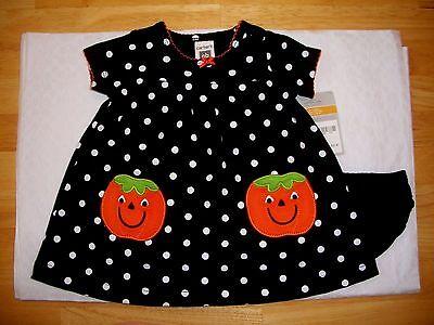 CARTER'S BABY GIRL'S HALLOWEEN PUMPKIN OUTFIT 2 PIECE NEW WITH TAG (Carter's Baby Girl Halloween)