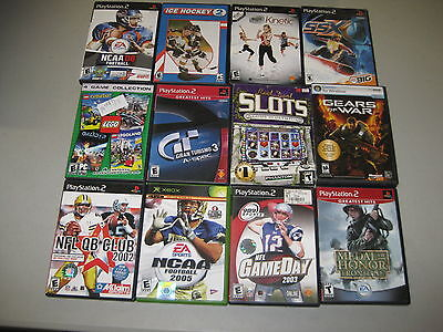 Software 80+Used PC Mac Xbox PS