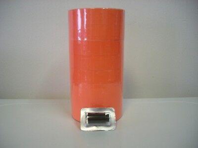 40000 Fl-red Labels For 1 Line 1131 Monarch Price Gun 16 Rolls