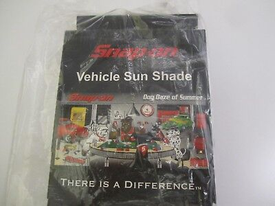 """Snap-on Tools Collectible """"Dog Daze of Summer"""" Sun Shade Auto Truck - NEW"""