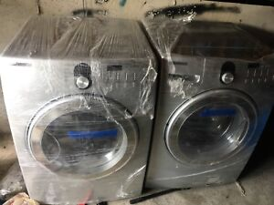 """Samsung washer and dryer 27"""""""