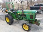 John Deere 850 Tractor 4wd Diesel 650 750 picture