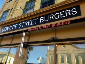 Gourmet Burger and beer restaurant for sale!