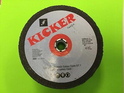 "NEW Kicker  Brand Silicone Carbide Grinding Wheel 5/""-4/"" x 2/"" 46 Grit"