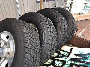 Landcruiser alloy gxl wheels 5 stud Mandurah Mandurah Area Preview