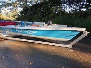 Laser Sail Boat 170548 sailed at Sydney Olympics