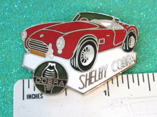 SHELBY COBRA  snake car - hat pin, lapel pin, tie tac, hatpin GIFT BOXED Q872