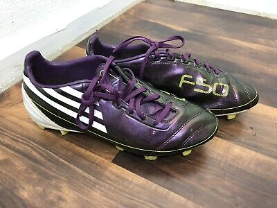 Adidas Messi F5 HG Junior Football Soccer Moulded Traxion Boots Gold