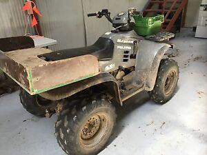 POLARIS MAGNUM 500 4X4 ATV FOR AUCTION Derwent Park Glenorchy Area Preview