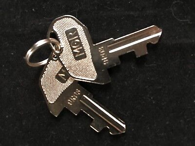 Tec Cash Register Mgr Key 9r03 Set Of 2