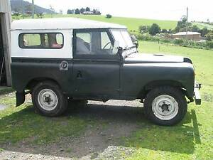 1971 Land Rover (4X4) Wagon Claremont Glenorchy Area Preview
