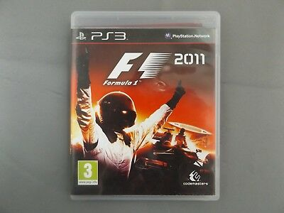 F1 2011 - SONY PS3 GAME - UK PAL - FORMULA 1 comprar usado  Enviando para Brazil