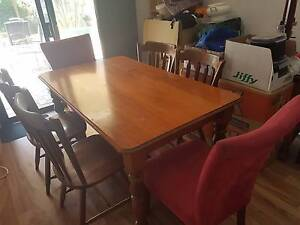 Dining table w/ 6 chairs for sale Holland Park Brisbane South West Preview