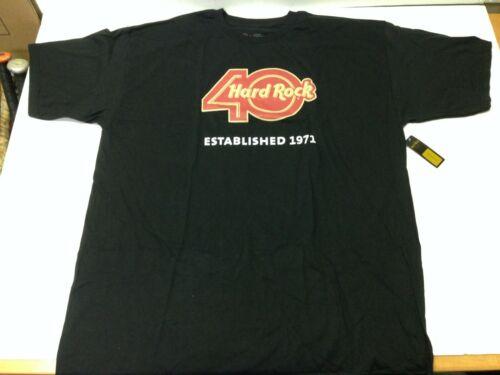 Hard Rock Cafe 40th Birthday Bash Downtown Orlando XL T-Shirt  w/tags