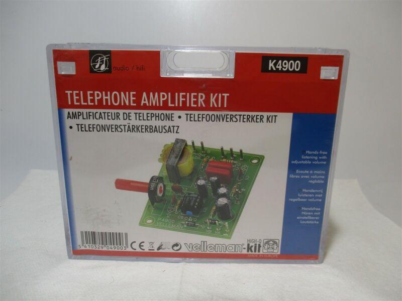 Velleman (K4900) Telephone Free-Standing Electronic Amplifier Educational Kit