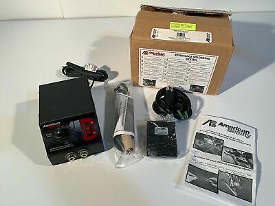 American Beauty Tweezer Resistance Soldering System 250w Foot Pedal Handpiece