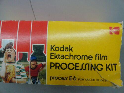 Kodak Ektachrome Film Processing Kit  Complete with ninstructions.