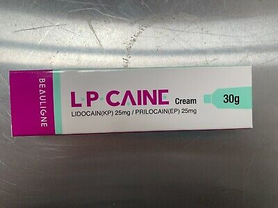 1oz Numbing Cream - LP CAINE - 30g, Fast Numbing, USA Seller, Free Shipping
