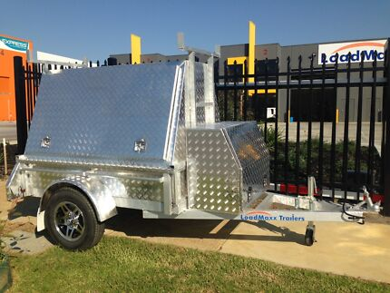 LoadMaxx all aluminium tradesman trailer 6x4 750KG