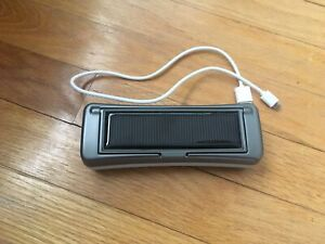 Solar Power AND plug-in portable charger
