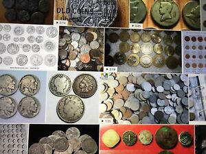 We are buying old coins & stamps.