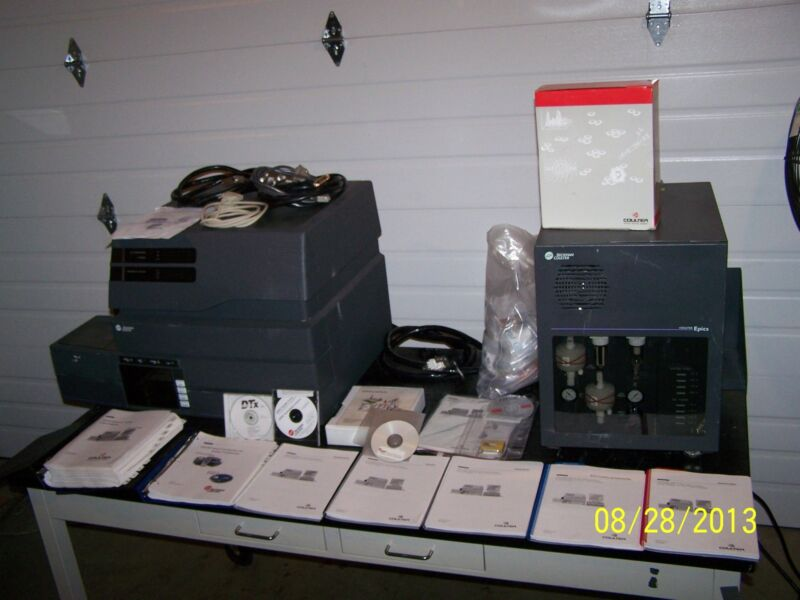 Beckman Coulter Epics Xl-mcl Flow Cytometer System & Software And Manuals