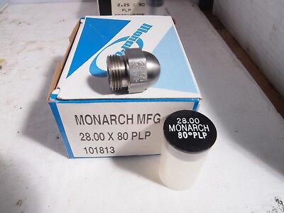 Monarch Oil Burner Nozzle 28.00 X 80 Plp Semi-solid New Nos Fuel Furnace