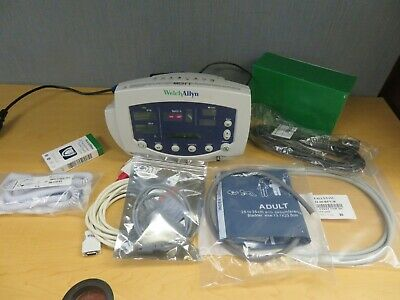 Welch-allyn 53000 53sto Patient Monitor Nibp Temp Masimo Spo2 16444