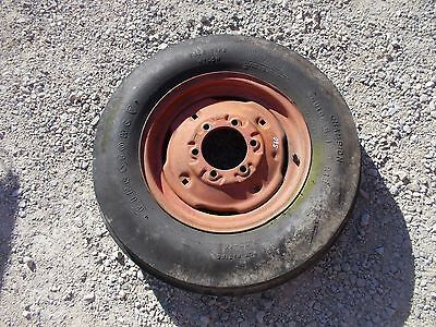 Farmall 460 560 656 Tractor Ih Ihc Rim Good 6.00x 16 3 Rib Firestone Tire