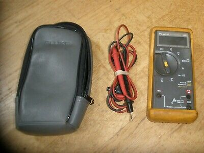 Fluke Et73dmma Mac Automotive Multimeter Digital Wcase Leads