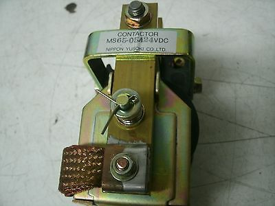 NIPPON CONTACTOR RELAY MS65-05A MS5305A 24VDC NEW
