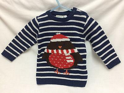 JoJo Maman Bebe Robin Sweater Size 3 to 4 years