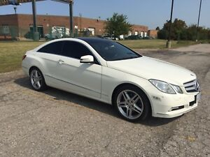 2010 Mercedes Benz E350 Coupe Panoramic Roof Premium