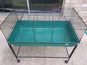 Indoor guinea pig cage and stand . Loganholme Logan Area Preview