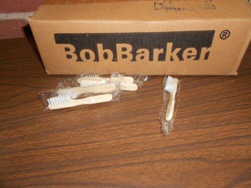144 ==1 Gross Individually Sealed Bob Barker Toothbrush Jail Prison Inmate--F1