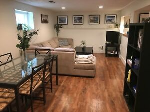 Basement suite, 5 minute walk from downtown.