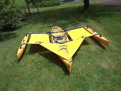 Hobie Adventure Island Kayak Trampoline & splash shield Yellow 2014 & earlier segunda mano  Embacar hacia Argentina