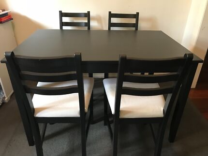 IKEA 4 Seater Dining Table and Chairs