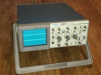 Tektronix 2205-40 Oscilloscope 40mhz Analog