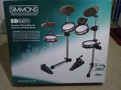 """SIMMONS ELECTRONIC DRUM KIT RACK 3 KEY /""""T/"""" CLAMP  SD300 SD350 SD500 SD550"""