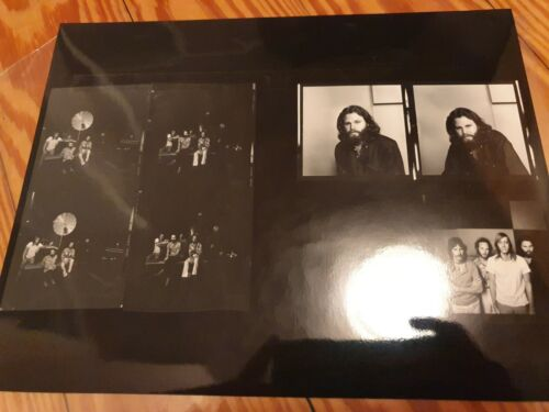 The Doors Jim Morrison photo proof sheet  Wendell Hamick LA Woman Sessions