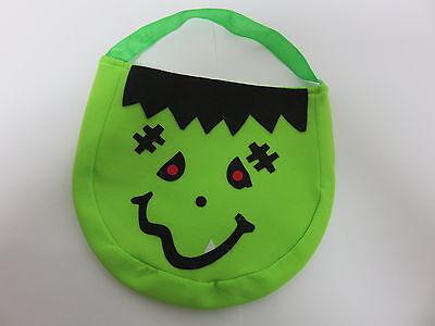 Halloween Tasche *  * Trick or Treat Handbag * Grün