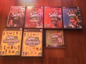 Sims2 plus expansion packs