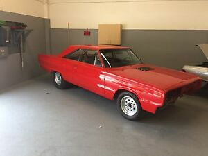 1967 Dodge Coronet rolling chassis