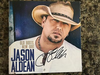 Jason Aldean Old Boots  New Dirt   By  Cd Comes W  Signed Cd Booklet Autographed