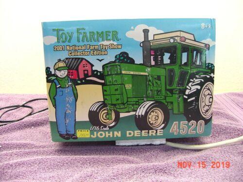 JOHN DEERE 4520 TRACTOR , 1/16, DIE CAST, 2001 TOY FARMER